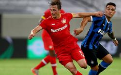 Leverkusen muss sich Inter 1:2 geschlagen geben