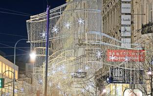 Weihnachtsbeleuchtung lässt Wien erstrahlen