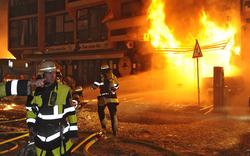 Fliegerbombe: München in Flammen