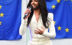 Conchita - Konzert vor EU-Parlament