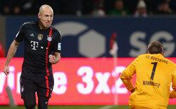 Bayern überrollen Manninger & Co.