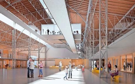 Bezirk: Rinderhalle St. Marx soll Event-Location bleiben