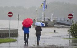 NÖ: Donau-Pegel teilweise fallend