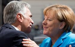 Merkel erobert heute Österreich