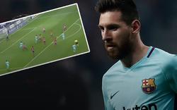 Hier wird Messi perfekt ausgetrickst