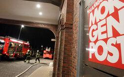 Brandanschlag auf Hamburger Morgenpost