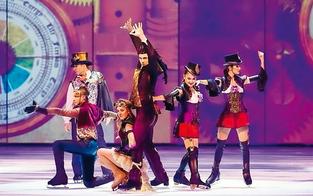 "Akrobatik-Show bei ""Holiday on Ice"""