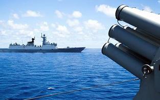 Schüsse und Bomben: Russland warnt Britisches Schiff