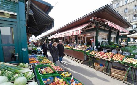 Der Naschmarkt boomt: 3,2 Mio. Gäste pro Jahr