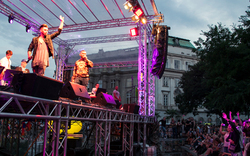 Hip-Hop-Show beim Popfest