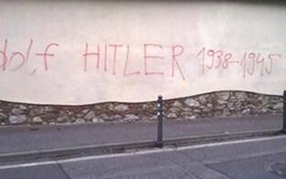 Fassaden mit Nazi-Parolen beschmiert