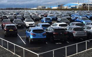 EU-Automarkt auf historischem Tiefpunkt