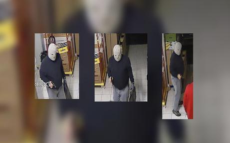 Bewaffneter Räuber überfiel Supermarkt
