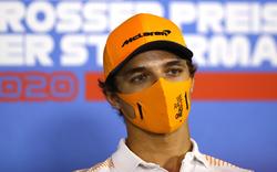 Sensations-Dritter Norris mit Strafe ins zweite Rennen
