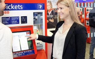ÖBB kommt bei neuen Ticketautomaten voran