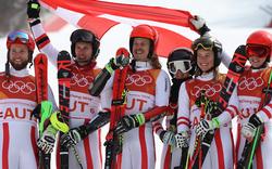 LIVE: ÖSV-Team erhält Medaille