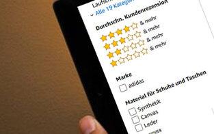 So viele Fake-Bewertungen gibt es bei Amazon
