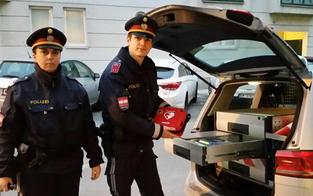 Diese Wiener Polizisten retten 25-Jähriger das Leben