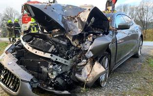 19-Jähriger crasht Luxus-Maserati