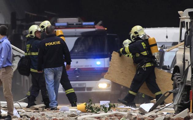 Nachrichten Prag Explosion