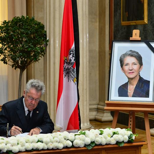 Prammer-Tod: Polit-Prominenz kondoliert