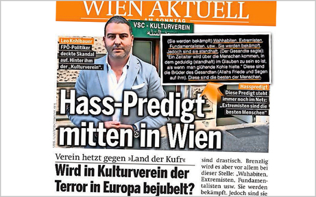 Gottesstaat und Scharia: Skandal-Predigt in Wien