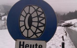 Kärnten: Kettenpflicht wegen Schneefalls auf mehreren Straßen