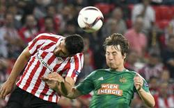Rapid unterliegt Bilbao knapp