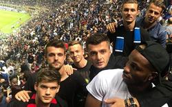 Rapid-Stars fieberten bei Mailand-Derby mit