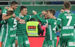 Schock: Saisonende für Rapid-Star
