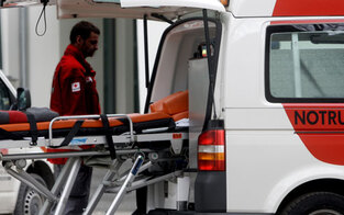 Arbeiter (58) von Radlader erdrückt