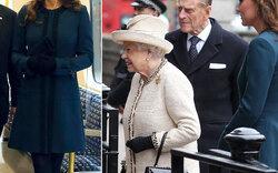 Queen wieder fit: U-Bahn Auftritt mit Kate