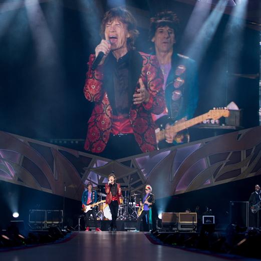 Rolling Stones rocken in Wien