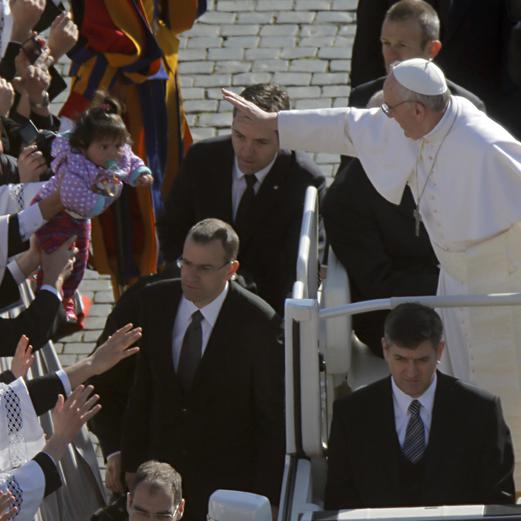 Amtseinführung von Papst Franziskus