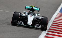 Rosberg holt Pole Position in Sotschi