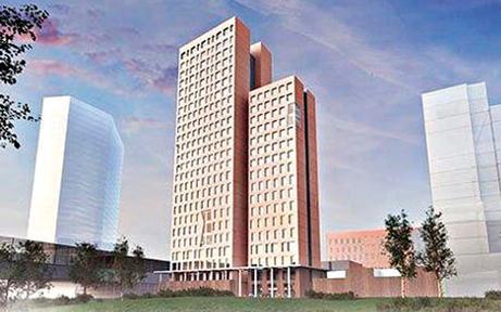 Weltweit höchstes Holzhaus  wächst in den Wiener Himmel