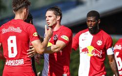 Salzburg lässt im Test gegen Nizza nichts anbrennen