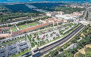 2017 Baustart für Parkplatz in Schönbrunn