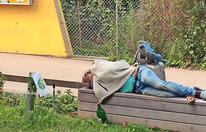 Floridsdorf: Alkoholkranke kampieren vor Schule