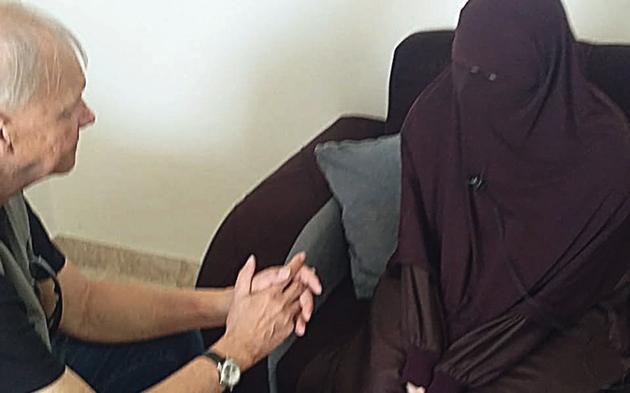 IS-Braut Syrien Camp