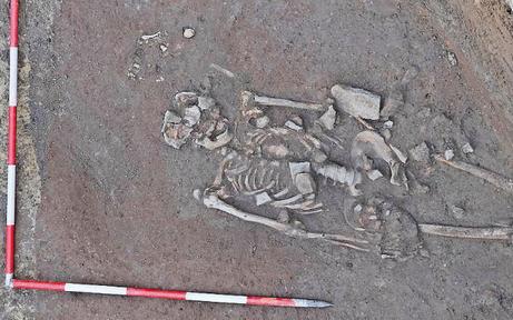 Neuer Markt: 17 Skelette bei Baustelle entdeckt