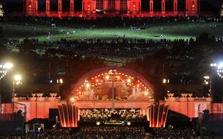 40.000 Zuschauer bei Sommernachtskonzert
