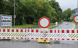 Sperre der A4-Unterführung aufgehoben