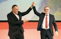 SPÖ-Parteitag: 99,4 % für Steidl