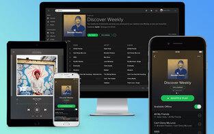 Spotify hat jetzt 100 Mio. Abonennten