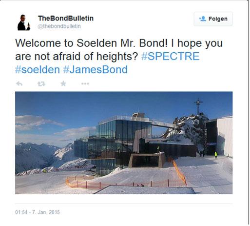 James Bond Sölden Craig
