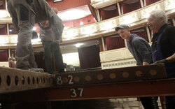 Opernball: Umbauarbeiten haben begonnen
