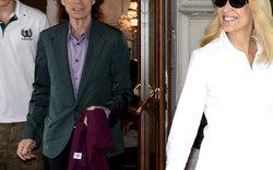 Mick Jagger in Wien: Sightseeing mit Ex-Frau