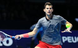 Thiem verliert nach Fehlerorgie gegen Federer