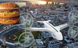 Big Mac kommt jetzt per Drohne